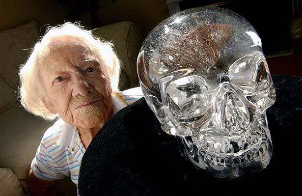 kristallen schedel maya
