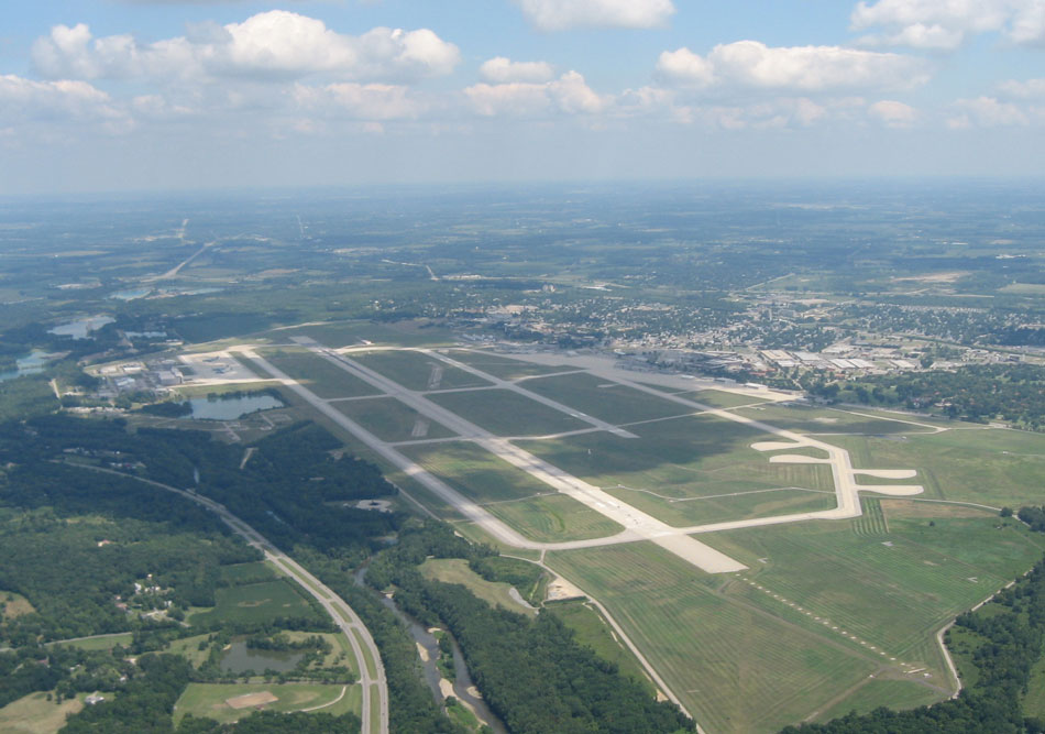 De Wright Patterson Air Force Base in Ohio